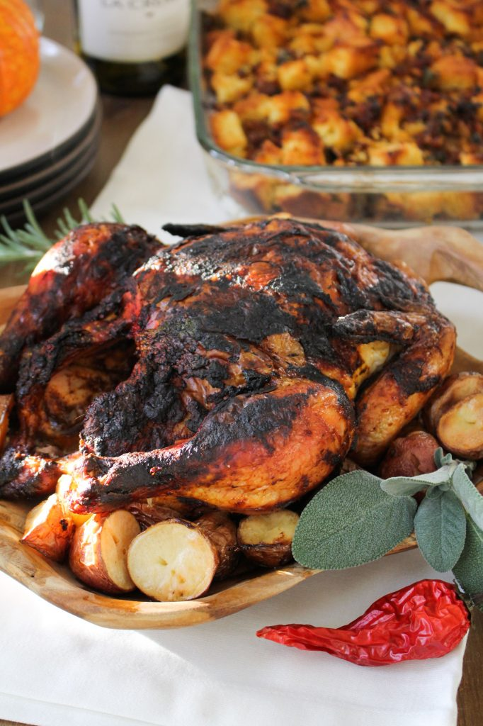 Mole Roasted Chicken {Katie at the Kitchen Door}
