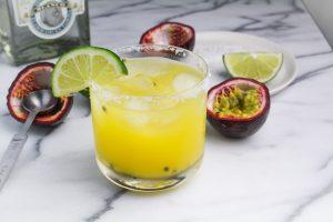 Passion Fruit Margaritas {Katie at the Kitchen Door}
