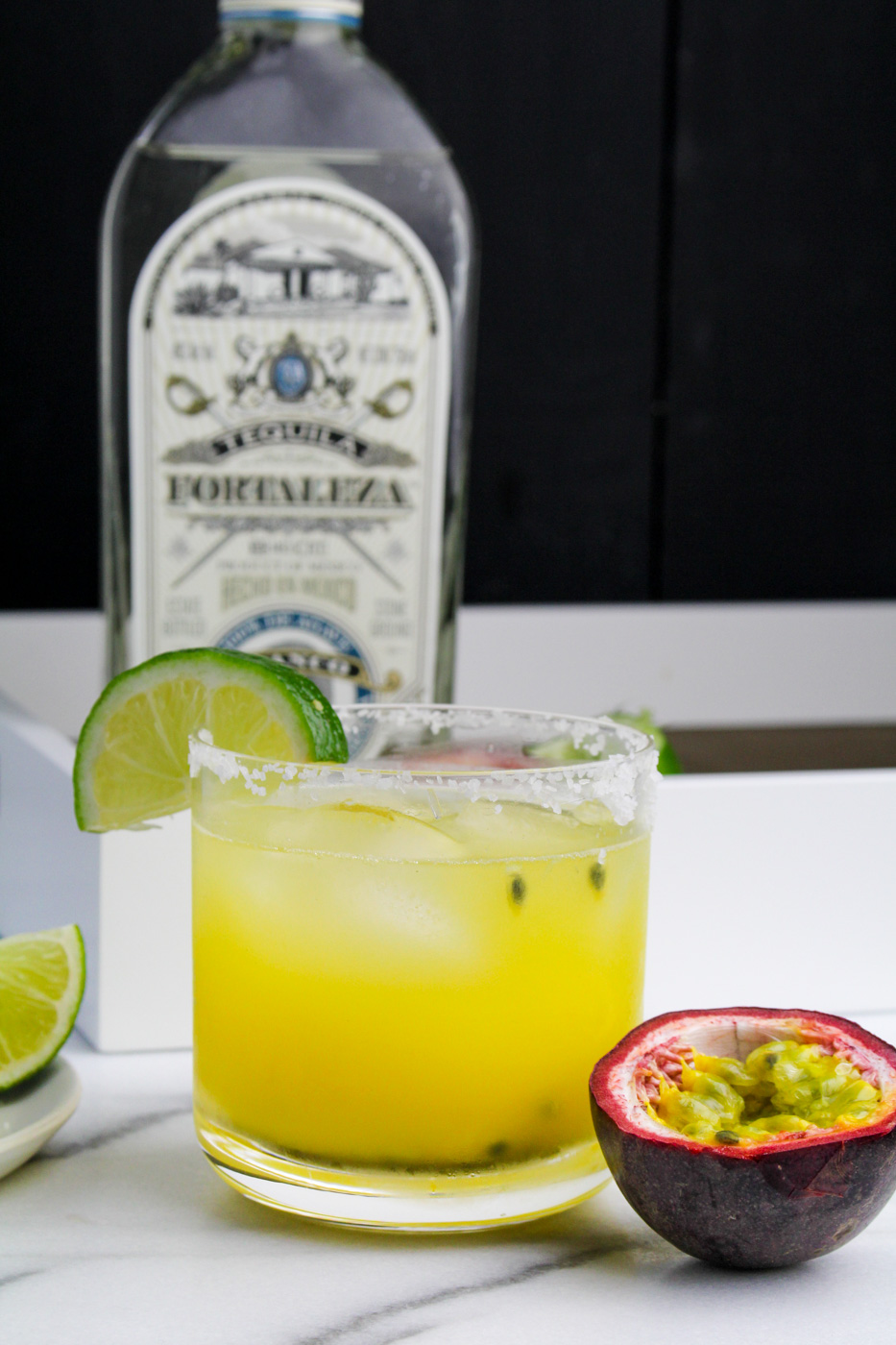 Passion Fruit Margaritas {Katie at the Kitchen Door}