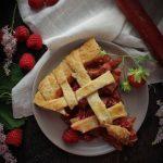Strawberry-Raspberry-Rhubarb Pie
