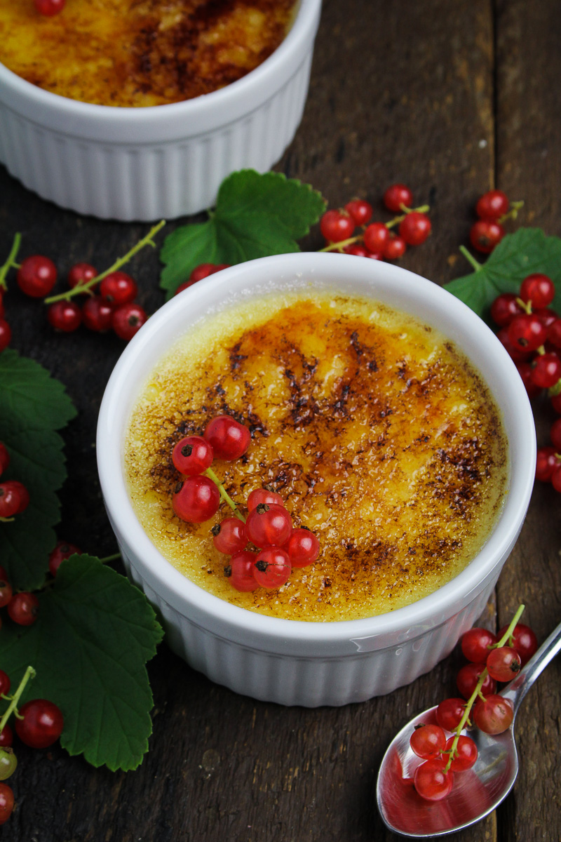 Red Currant Crème Brûlée
