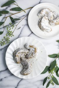 Pecan Crescent Cookies {Katie at the Kitchen Door}