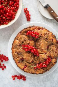 Red Currant Coffee Cake {Katie at the Kitchen Door}
