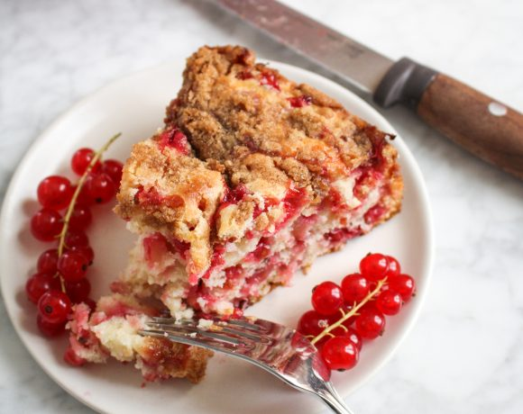 Red Currant Coffee Cake