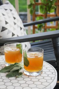 The Liquid Ditty: Bourbon, Calvados and Cider Cocktail {Katie at the Kitchen Door}